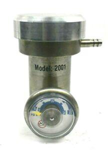 Model 2001 Specialty Regulator Valve with 1000 PSI Gauge