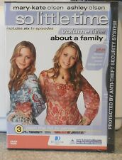 Mary-Kate  Ashley Olsen So Little Time Vol 3 About a Family (DVD 2003) BRAND NEW