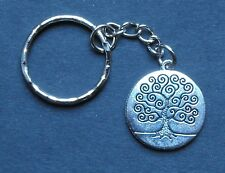 1951 67th birthday retirement lucky Sixpence Peace Tree keyring Charm present