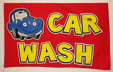 Car Wash Business Flag 3' X 5' Indoor Outdoor Multi-Color Banner