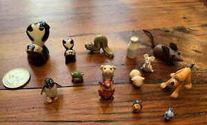 Lot of 14 Vintage Miniatures
