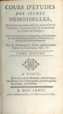 Cours d'études des Jeunes Demoiselles/Abbé Fromageot/Tome 6/Histoire/1774