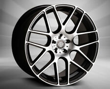 18x9 5x108 CURVA C7 BLACK MACHINE MADE FOR FORD JAGUAR VOLVO