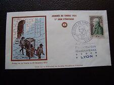 FRANCE - enveloppe 1er jour 20/3/1954 (journee du timbre) (cy99) french