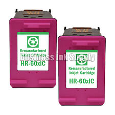2 Color HP 60XL Remanufactured ink cartridge CC644WN HP60XL HP 60 XL HP 60XL