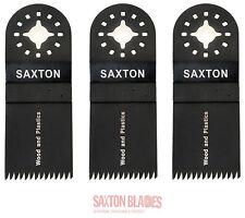 Saxton 3x35mm LAME grossolano per Fein Multimaster Attrezzo Multifunzione Bosch