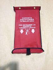 COPERTA COPERTE ANTIFIAMMA ANTICENDIO 81/08 ESTINTORE ESTINTORI 150x180cm