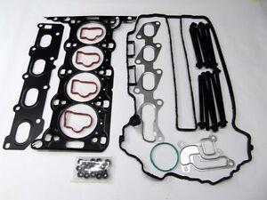 CORSA D ASTRA MERIVA TIGRA 1.2 1.4 16v Z12XEP ENGINE HEAD GASKET + HEAD BOLT SET