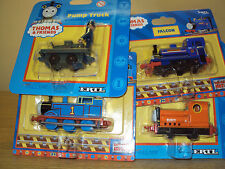 4 CARDED ERTL THOMAS THE TANK DIECAST FALCON RUSTY THOMAS PUMP TRUCK NEW ON CARD