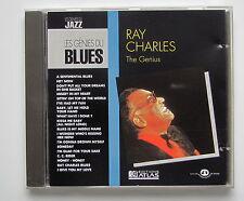 RAY CHARLES . THE GENIUS . LES GÉNIES DU BLUES . CD