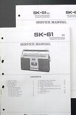 PIONEER SK-61 Original Service-Manual/Service-Anleitung/Schaltplan! o20