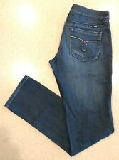 Roxy Gold Coast Skinny Fit Jeans Juniors 5 Stretch 30x32 Blue Denim Surf EUC $65