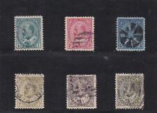 Canada Used 1903-1904,#89-94 King Edward VII