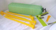 Accessoires jaunes en plastique pour tente et auvent de camping