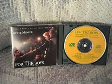 Bette Midler - For The Boys Motion Picture Soundtrack CD