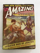 AMAZING STORIES-VOLUME 17-NUMBER 2-FEBRUARY 1943-PULP-F 6.0