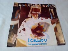 "Lil Louis & The World I Called U 7"" Single Excellent Vinyl Record F123 P/S"