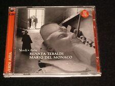 VERDI ° AIDA<>TEBALDI AND DEL MONACO ~Italy DOUBLE CDs  (2003)  °  THE 5022
