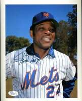 Willie Mays Mets Jsa Certified Authentic Hand Signed 8x10 Photo Autograph