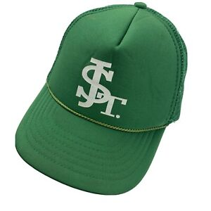 St J Green Trucker Youth Cap Hat Snapback Baseball