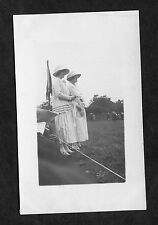 Dated 1923 - Miss Wilson & Miss Deane at a Sports Day.