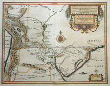 SÜDAMERIKA BRASILIEN PARAGUAY RIO DE LA PLATA ST. CRUZ SIERRA BLAEU WAPPEN 1640