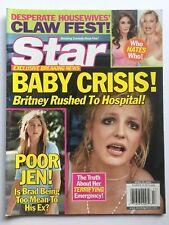 BRITNEY SPEARS 2005 STAR Magazine JENNIFER ANISTON / DESPERATE HOUSEWIVES
