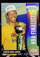 Kareem Abdul-Jabbar 2019-20 Panini Prizm NBA Finalist Silver Insert #4 Lakers