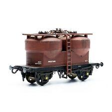20 Ton Twin Silo Cement Wagon Prestwin - Dapol C043 - OO plastic kit - free post