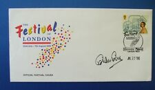 1988 FESTIVAL OF LONDON WEEK OFFICIAL COVER SIGNED BY BRIAN RIX