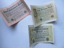 Original WWI German INFLATION CURRENCY, 20,000,000 MARKS, WIEMAR 1920's, GIFT