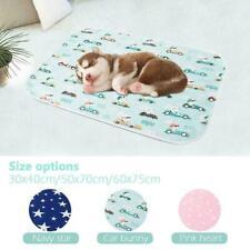 Waterproof Pet Puppy Pee Pads Washable Reusable Dog Training Mat Cat Pad Z2N0