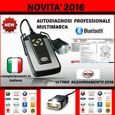 AUTODIAGNOSI MULTIMARCA PROFESSIONALE W.0.W + AUTO DIAGNOSI OBD OBD2 + DATABASE