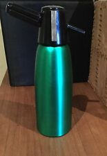 RETRO vintage Emerald Green anodised SODA SYPHON - Will Include 2 FREE bulbs