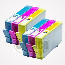 6 CLR 564XL 564 XL Ink Cartridge for HP PhotoSmart D5445 D5460 7510 7560 pritner