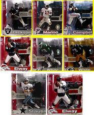 McFarlane Toys NFL Legends Series 3 Set of 8 Action Figures 2007 Elway Campbell