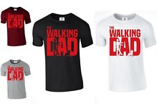 The Walking Dad T-Shirt Funny Dead Fathers Day Grandad Gift (Walking, Tshirt)