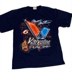 Vinatge Mark Martin Valvoline Racing #6 Chase Authentics T-Shirt (Medium)