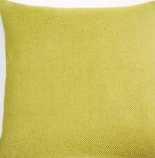 """Lime Green Cushion Cover Nina Campbell Fabric Chenille Bovary Plain Square 16"""""""
