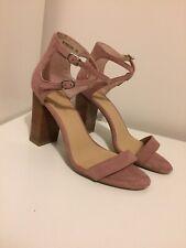 New Look Pink Block Heels. Size 5