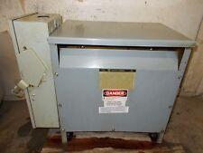 SQUARE D 30 KVA 3 Phase Transformer