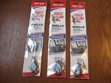 18 Snelled Eagle Claw 139 Bait Holder BaitHolder Fishing Hooks Size 2/0
