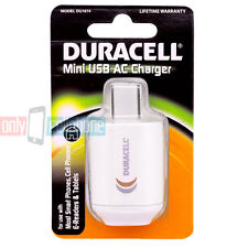New Duracell Mini USB AC Charger Adapter for Smartphone E-Reader & Tablets