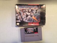 ROBOCOP 3 ROBO COP BOXED SNES SUPER NINTENDO GAME TESTED & WORKING