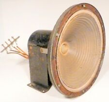 "vintage * LYRIC RADIO CO:  Working  8 & 1/2"" FIELD COIL SPEAKER  - 390 OHMS F.C."