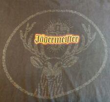 Jagermeister Liquor black T Shirt Mens Adult Size XL Fear The Deer Bucks Jager