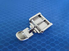DOMESTIC SEWING MACHINE CLIP ON ZIP ZIPPER FOOT FOR BROTHER JANOME SINGER TOYOTA