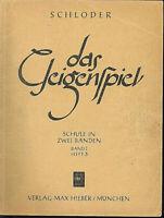 """"""" Das Geigenspiel - Band 1 Heft 3 """" SCHLODER"""