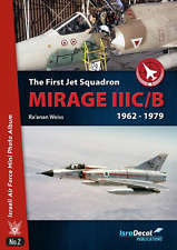 ISRADECAL The First Jet Squadron Mirage IIIC/B 1962-79 IDF IAF  1/32 1/48 1/72