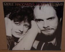 Merle Haggard & Leona Williams Heart To Heart vinyl LP record sealed cut out